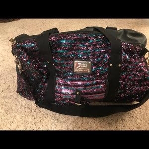 Juicy Couture duffel bag. New never used